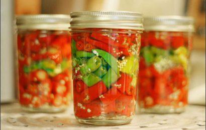 Tổng hợp những món ớt ngâm ngon thêm gia vị cho bữa ăn