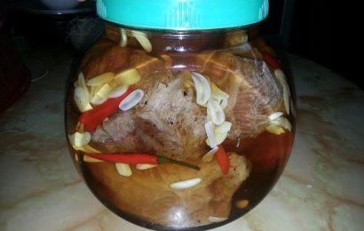 Cách làm món thịt bò ngâm giấm chua ngọt ngon như ngoài quán