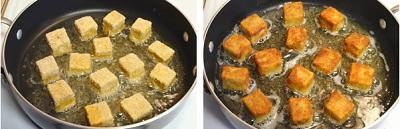 Cách làm đậu rán ngũ vị giòn tan
