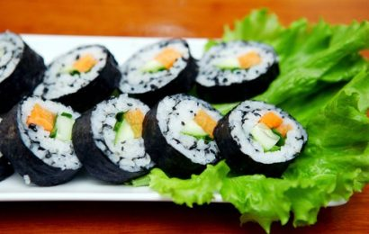 Cách làm Kimbap chay ngon đảm bảo sức khỏe cho cả gia đình