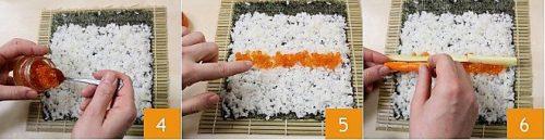 Cách làm món sushi kiểu Nhật Bản ngon 2