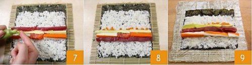 Cách làm món sushi kiểu Nhật Bản ngon 3