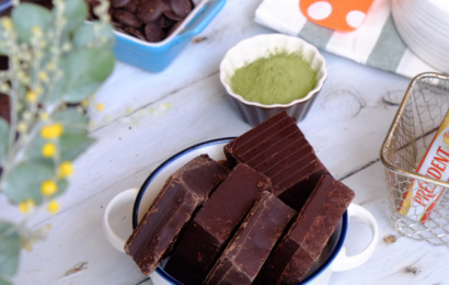 Cách  làm nama chocolate bằng sữa tươi, đem tình yêu dành tặng socola