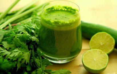Giảm cân tuyệt vời với cách làm sinh tố rau xanh