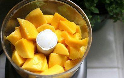Tìm đến công thức làm sinh tố xoài táo giúp giải nhiệt mùa hè