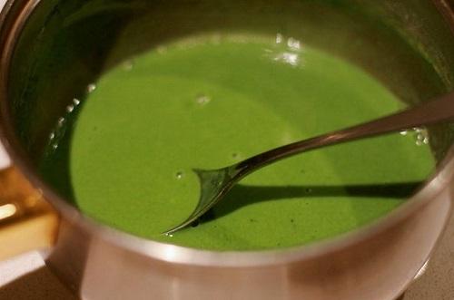 cách làm sữa chua dẻo trà xanh
