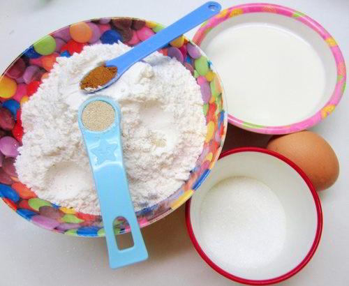 cách làm sữa tươi chiên vị trà xanh 1