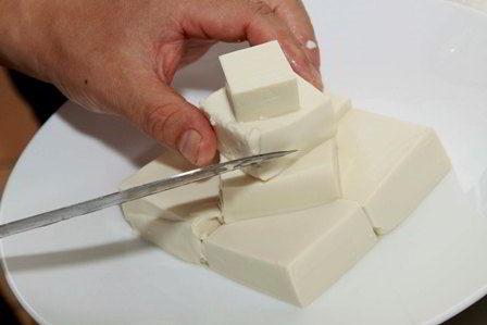 cách làm sữa tươi chiên vị trà xanh 5