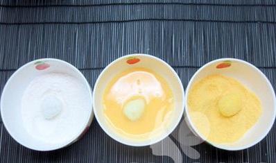 cách làm trứng cút chiên xù