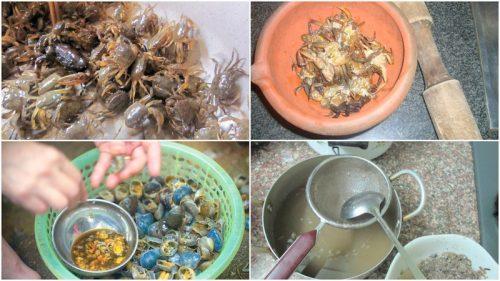 cách nấu canh cua rau đay mướp ngon