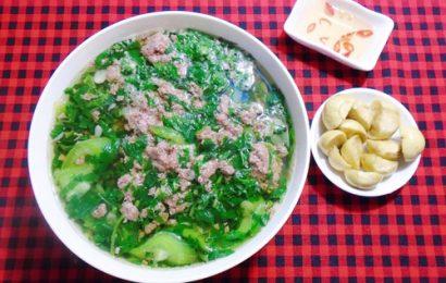 Hướng dẫn cách nấu canh cua rau đay mướp ngon giải nhiệt hè