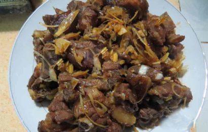 Cách nấu thịt chó nhựa mận ngon quên sầu cho ngày mát mẻ