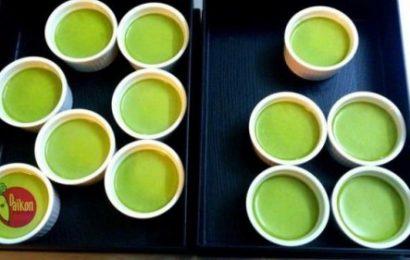 Cách làm caramen vị trà xanh thơm ngon tới thìa cuối cùng