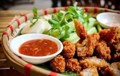 Cách làm nước chấm nem chua rán Hà Nội ăn không cũng đã mê
