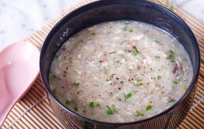 Cách nấu cháo cá chép đậu xanh thơm ngon bổ dưỡng