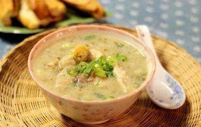 Cách nấu cháo ếch đậu xanh mang giá trị dinh dưỡng dồi dào