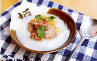 Cách nấu cháo sườn ngon cho bé đậm thơm đầy dinh dưỡng