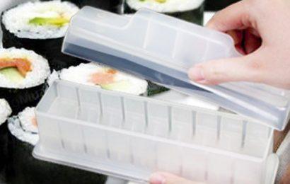 Hộp làm Sushi tiện lợi, dễ dùng và cực an toàn cho sức khỏe