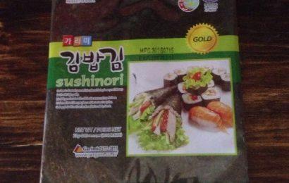 Rong biển làm Kimbap quyết định đến sự thành công của món cơm cuộn