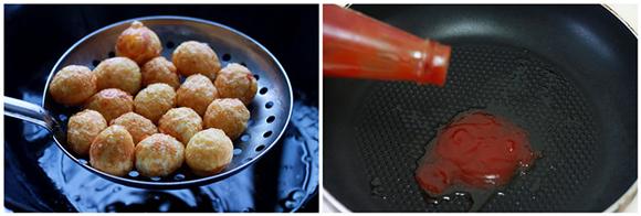 Trứng cút chiên sốt chua ngọt đậm đà, đưa cơm 2