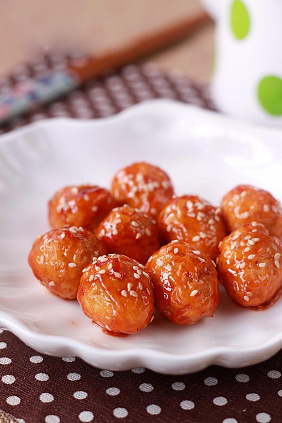 Trứng cút chiên sốt chua ngọt đậm đà, đưa cơm 5