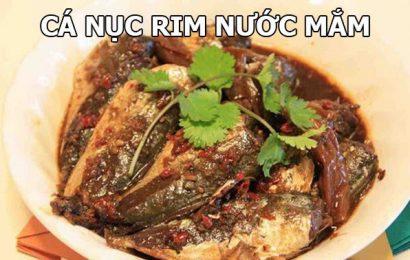 Chia sẻ 2 cách kho cá nục rim với nước mắm dậy hương đầy lôi cuốn