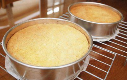 Cách làm bánh bông lan bằng lò viba đơn giản chẳng phải nghĩ