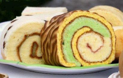 Cách làm bánh bông lan cuộn da beo nhìn là mê, ăn là nghiền