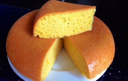 Cách làm bánh bông lan khuôn nướng than vẫn đảm bảo bánh thơm ngon