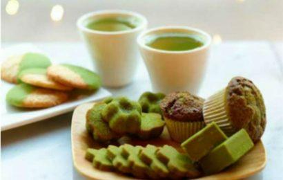 Cách làm bánh bông lan trà xanh vừa đẹp vừa thơm ai cũng mê tít