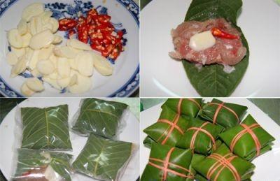 Cách làm món nem chua chay bằng vỏ bưởi và đu đủ xanh 4
