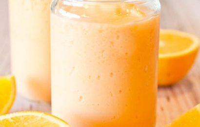 Cách làm sinh tố cam sữa chua, thức uống hoàn hảo cho mọi gia đình