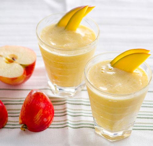Cách làm sinh tố táo cho bé, giúp con yêu giải nhiệt ngày hè