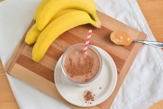 Cách làm sinh tố chuối socola dành riêng cho các tín đồ của chuối 1