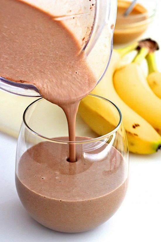 Cách làm sinh tố chuối socola dành riêng cho các tín đồ của chuối 4