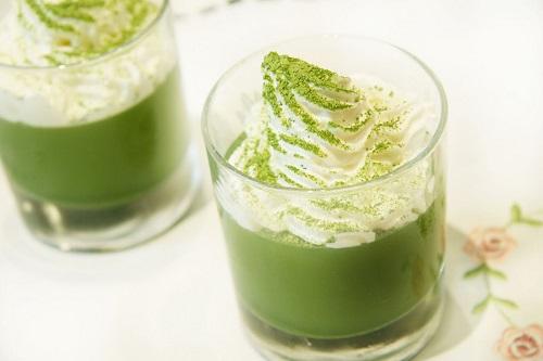Cách làm trà sữa trà xanh Nhật Bản