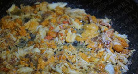 Cách nấu cháo cua bí đỏ