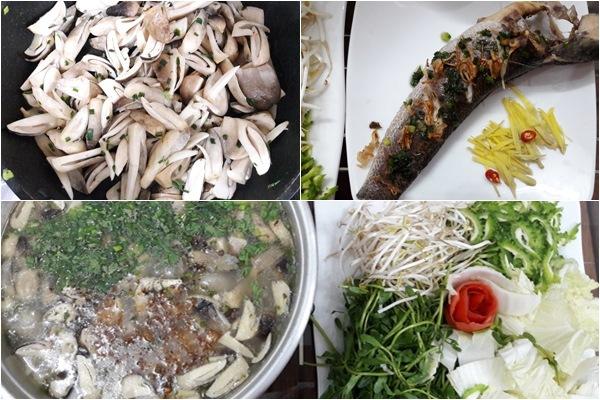 Cách nấu lẩu cháo cá lóc thơm ngon đúng điệu càng ăn càng mê