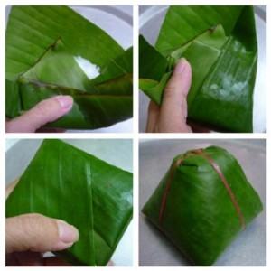 cách làm bánh giò Hà Nội