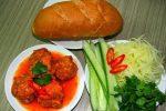 Cách làm nước sốt cà chua chấm bánh mỳ