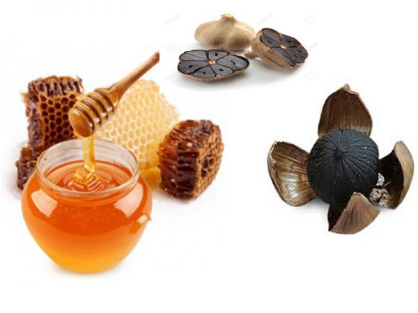 Bài thuốc thần kì với cách làm tỏi đen ngâm mật ong tuyệt vời cho sức khoẻ