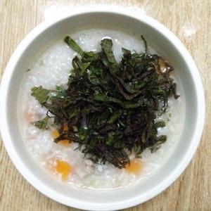 Chi tiết cách nấu cháo thịt băm tía tô ngon theo kinh nghiệm của emvaobep 6