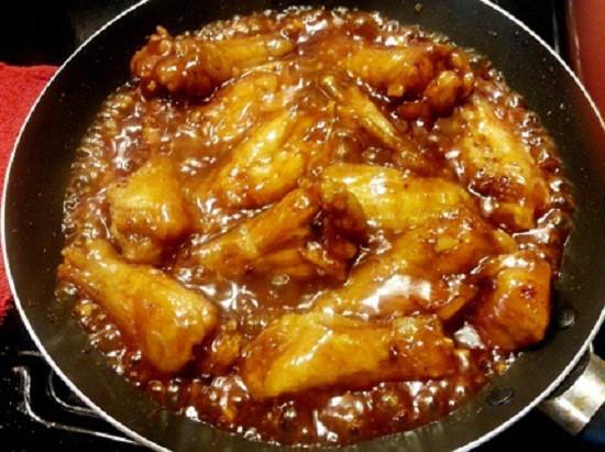 món cánh gà chiên nước mắm tỏi 2