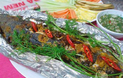 Truyền thụ món cá nướng giấy bạc bằng lò nướng ngon tuyệt hảo