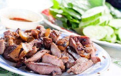 Mách nhỏ bạn cách chế biến thịt trâu nướng thơm nức mũi