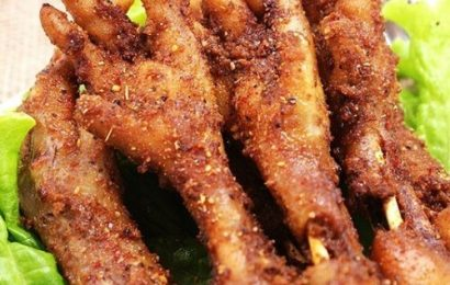 Cách làm chân gà nướng ngũ vị cực đơn giản nhâm nhi bên gia đình