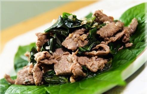 Thơm lừng với cách làm món thịt trâu nướng lá lốt ngon như nhà hàng 4