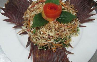 Cách làm nộm hoa chuối đậu phụ thanh mát cho bữa cơm cuối tuần