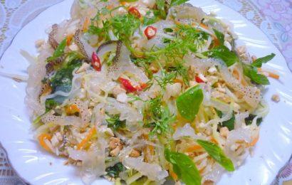 Cách làm nộm sứa xoài xanh ngon đảm bảo ai ăn cũng xuýt xoa