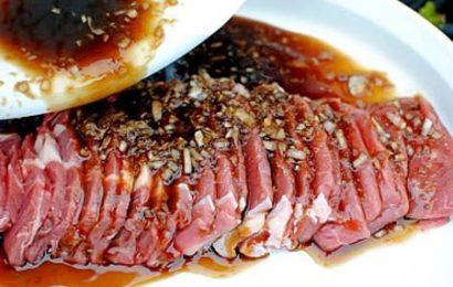Khéo tay hay làm với cách ướp thịt bò nướng ngon như ngoài hàng